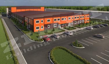 Офисно-складское здание 8000м2