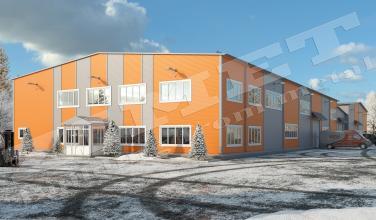 Офисно-складское здание